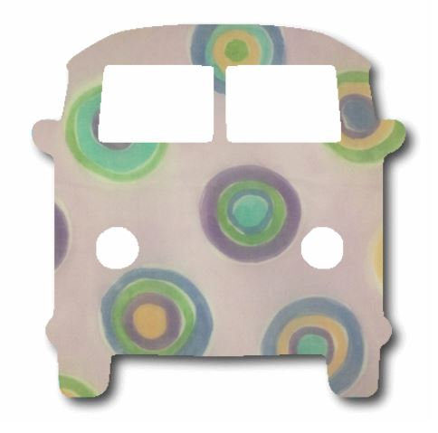 Kombi pin board - 'lilac b'