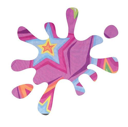 Splat pin board - 'star burst'