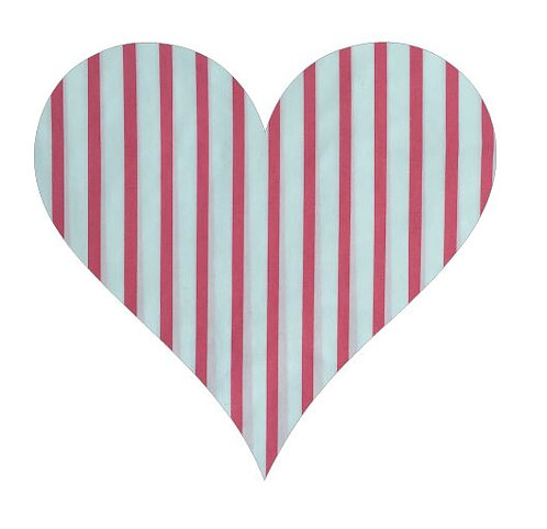 Heart pin board - 'p-line'