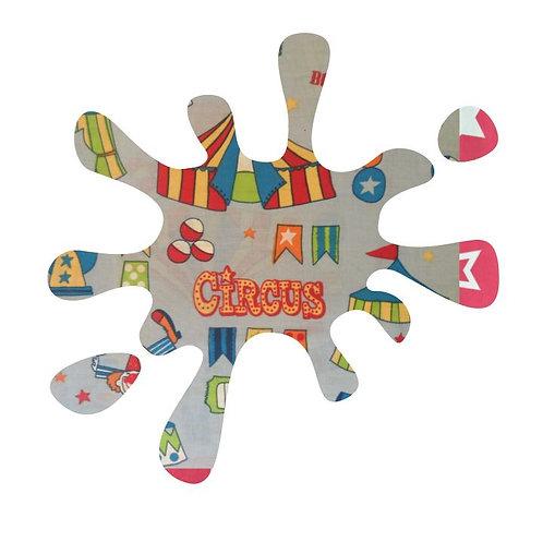 Splat pin board - 'circus'