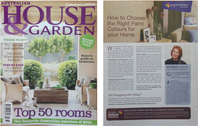 Australian House and Garden published Visual Edge article