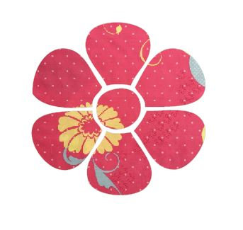 Flower pin board - 'flourish'
