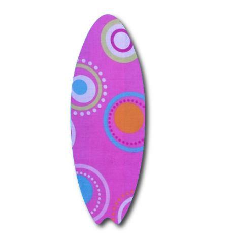 Surfboard pin board - 'dot'