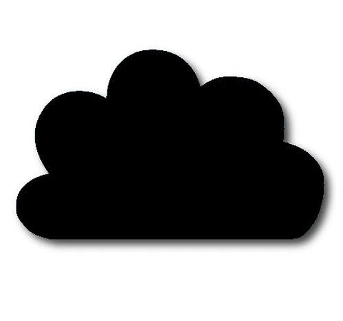 Cloud pin board - 'black'