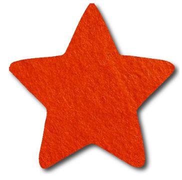Star pin board - 'tangerine'