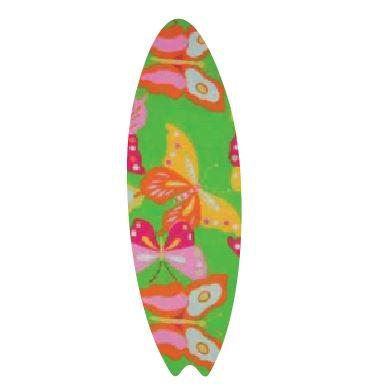 Surfboard pin board - 'butterflies'