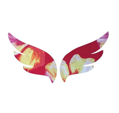 Pair of wings pin board 'bloom'