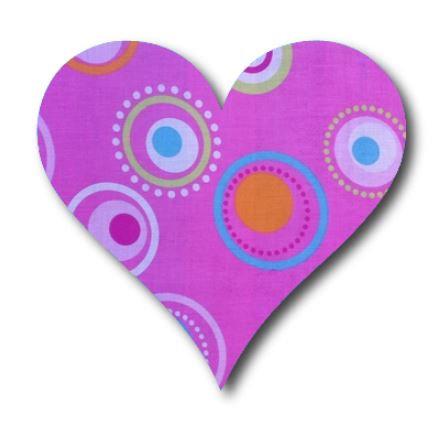 Heart pin board - 'dot'