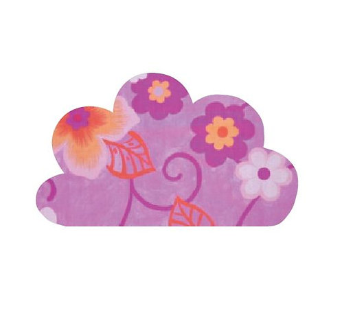 Cloud pin board - 'wild flowers'