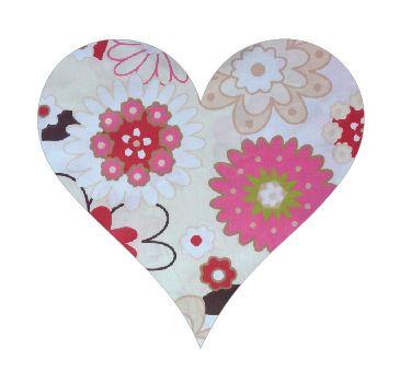 Heart pin board - 'spring has sprung'