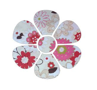 Flower pin board - 'spring has sprung'