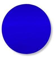 Circle pin board 'royal blue'
