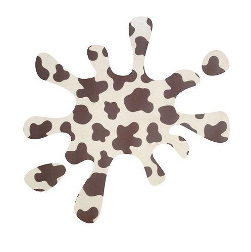 Splat pin board - 'moo'