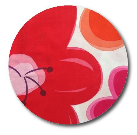 Circle pin board 'pop flower'