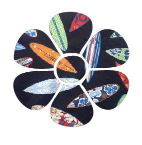 Flower pin board - 'surferini'