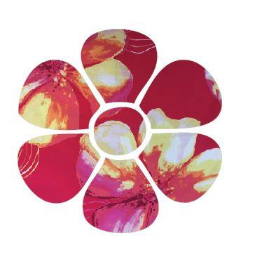 Flower pin board - 'bloom'