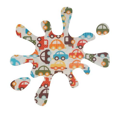 Splat pin board - 'traffic'