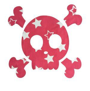 Skull & Crossbones pin board - 'starsky'
