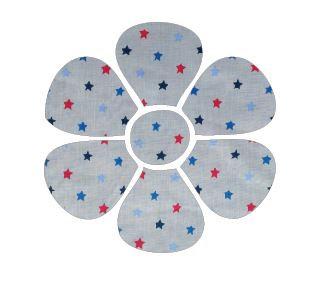 Flower pin board - 'star struck'
