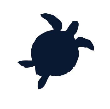 Turtle pin board - 'navy'
