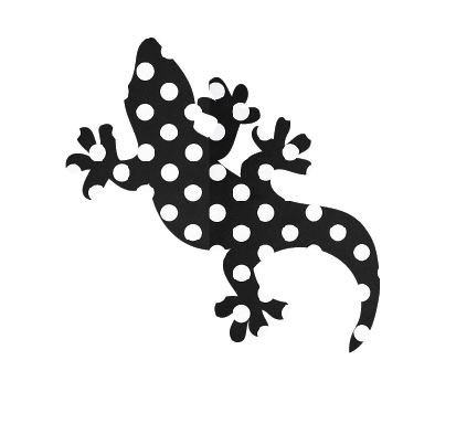 Gecko pin board - 'dotty'