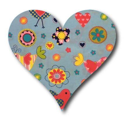 Heart pin board - 'happy place'