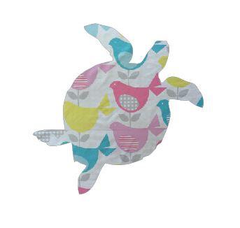 Turtle pin board - 'birdie num'