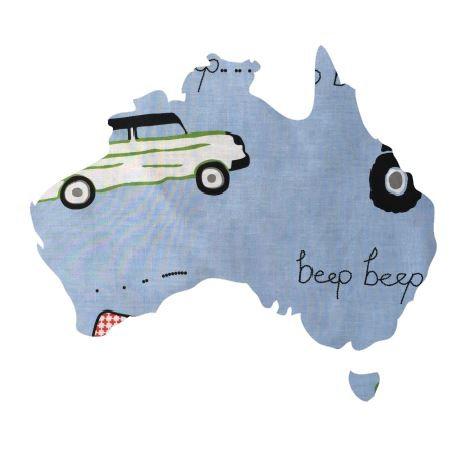 Australia Map pin board  - 'beep'