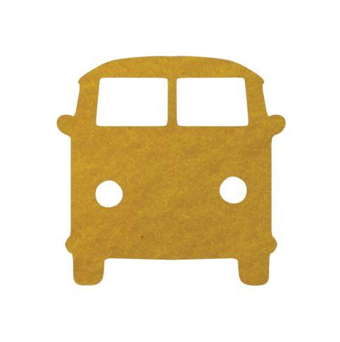 Kombi pin board - 'yellow'
