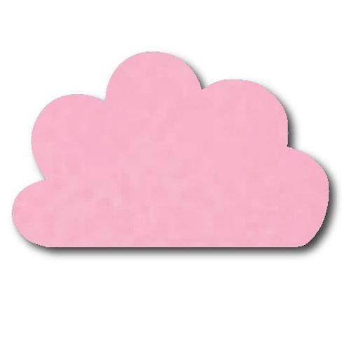 Cloud pin board - 'soft pink'
