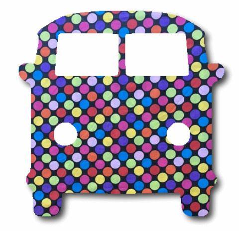 Kombi pin board - 'bling'