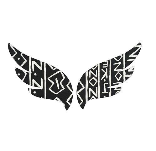 Pair of wings pin board 'inside'