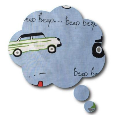Thought bubble -'beep'