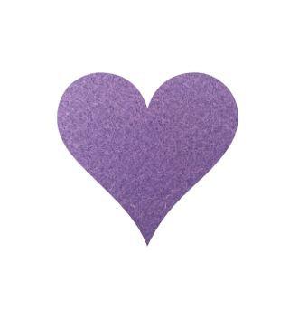 Heart pin board - 'mauve'