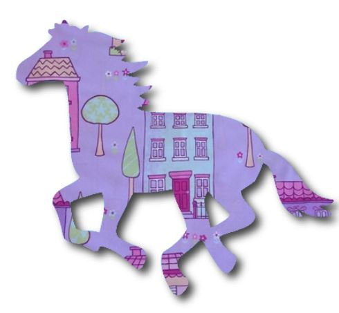 Unicorn or horse pin board - 'chalet'