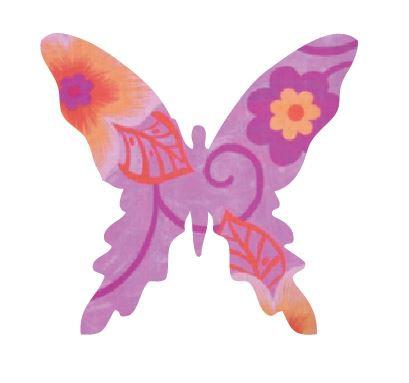 Butterfly pin board - 'wild flowers'