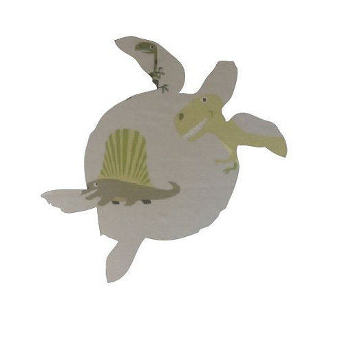 Turtle pin board - 'dinos alive'