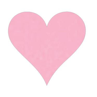 Heart pin board - 'pale pink'