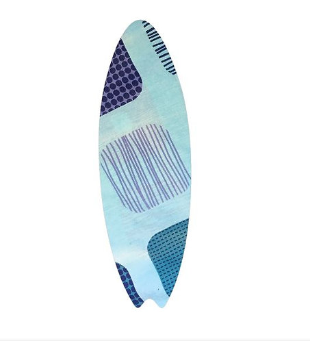 Surfboard pin board - 'squares'