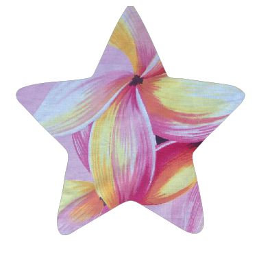 Star pin board - 'franjipani'