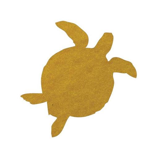 Turtle pin board - 'yellow'