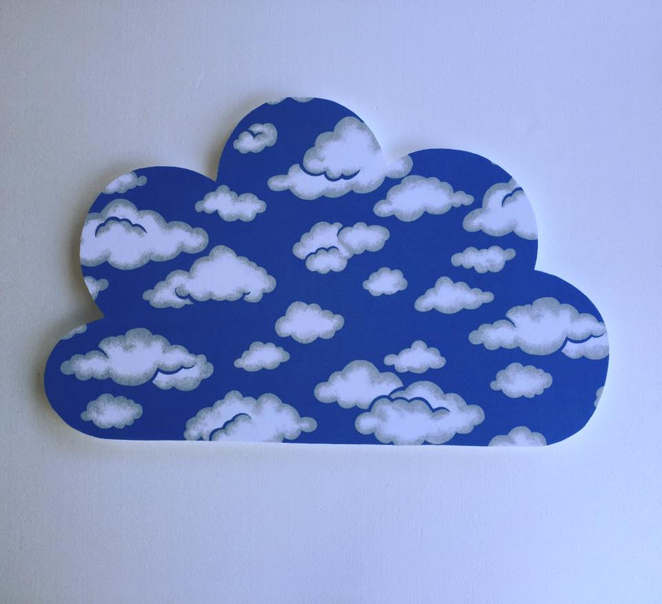 large cloud pinboard