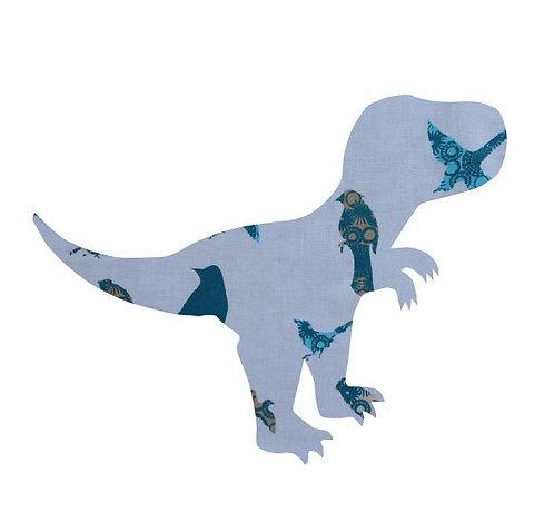 T- Rex - teal birds