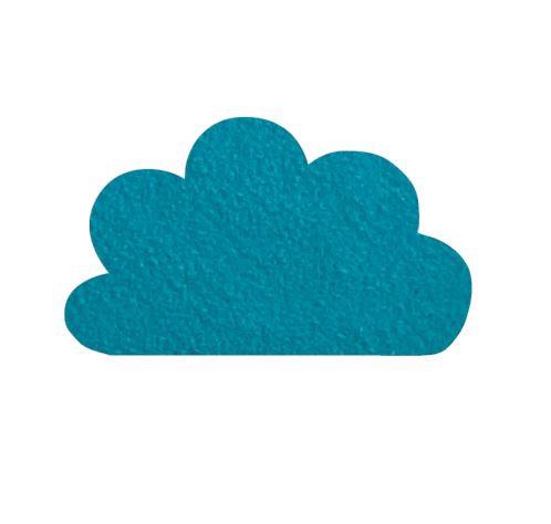 Cloud pin board - 'teal'
