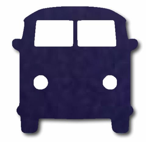 Kombi pin board - 'navy'