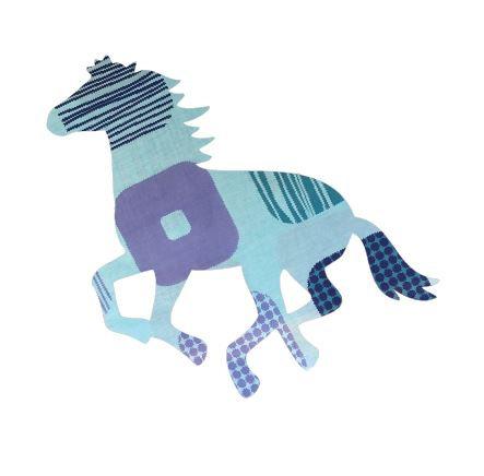 Unicorn or horse pin board - 'squares'