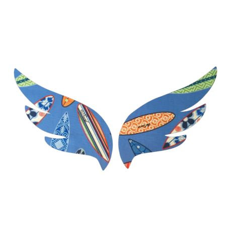 Pair of wings pin board 'surferini sky'