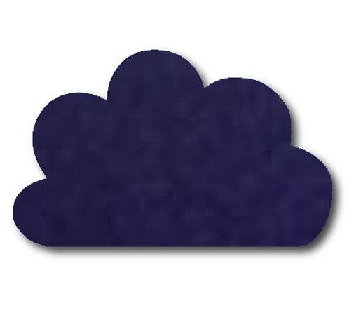 Cloud pin board - 'navy'