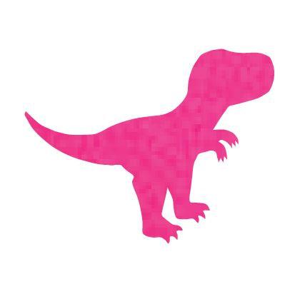 T- Rex - hot pink