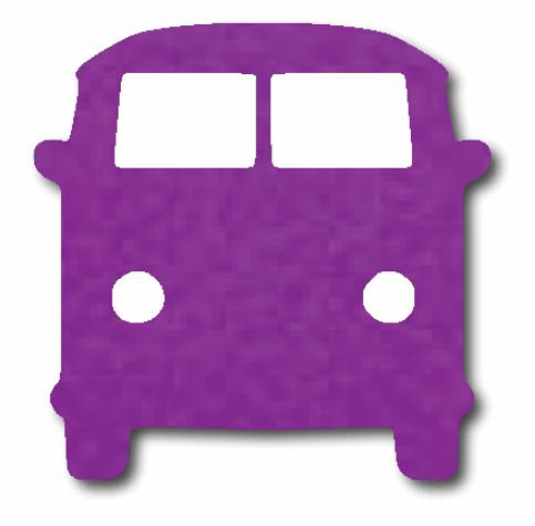 Kombi pin board - 'purple'